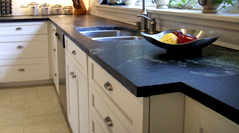 Soapstone Kitchen and Bathroom Counters